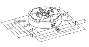 Erowa Power Pneumatic Chuck for CNC Machine Center pictures & photos