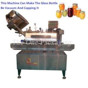 Twist-off Cap Vacuum Capping Machine Glass Jar Capping Machine pictures & photos