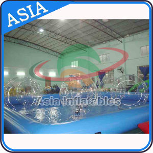 Blue Square Water Pool for Water Ball Games, Inflatable Pool with Water Balls pictures & photos