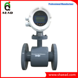 4-20mA Output Intelligent Electromagnetic Flow Meter pictures & photos