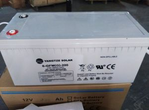 Long Working Life Free Shipping 200ah Deep Cycle Battery for Solar System pictures & photos