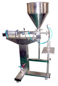 Automatic Pneumatic Filling Machine for Paste pictures & photos