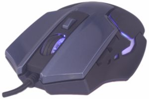 Computer Mouse/USB Wired Gaming Mice for PC Mouse Msg-X1 Gaming Mouse 7 Buttons 3200 Dpi Black pictures & photos