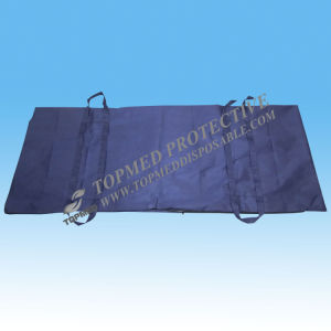 PP+PE Nonwoven Body Bag, Waterproof Dead Body Bag for Hospital pictures & photos