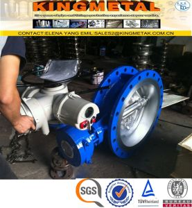 1 Inch API 6D Wcb Butterfly Valve Manufacturers pictures & photos