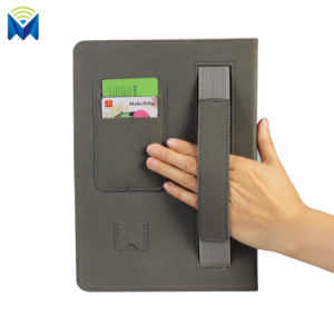 Stand Cover Flip Leather Wallet Case with Card Slots Hand Strap Grip for Apple iPad Air PRO 9.7 12.9 iPad Mini 2 3 4 pictures & photos