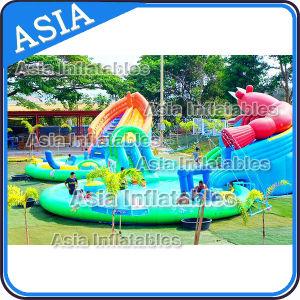 Giant Inflatable Shrimp Shape Water Park, Inflatable Amusement Park pictures & photos
