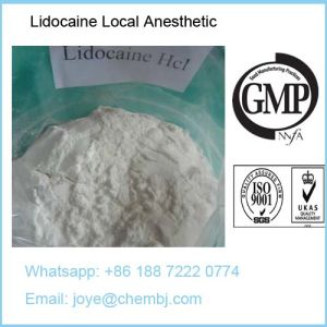 Local Anesthetic Drugs Pharmaceutical Raw Materials Lidocaine CAS 137-58-6 pictures & photos