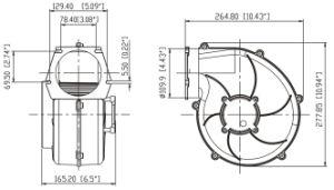 12 Volt Mini Blower Air Blower pictures & photos