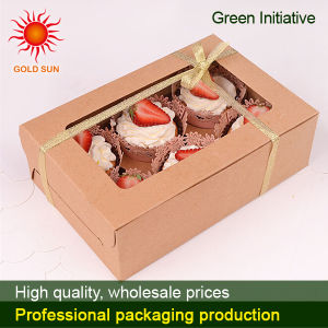 2013 Cake Box/ Food Box with Window (K135-D) pictures & photos