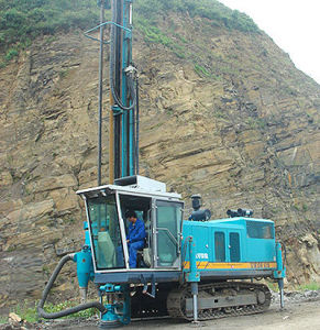 Hot Sale Cutting Rock Blasting Drilling Dig Excavator with Drilling Rig pictures & photos