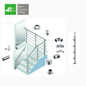 Stainless Steel 201 Grade Wood Railing pictures & photos