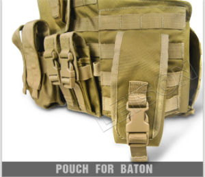 Ballistic Vest with Quick Release System for Military and Outdoor Bulletproof Body Armor pictures & photos