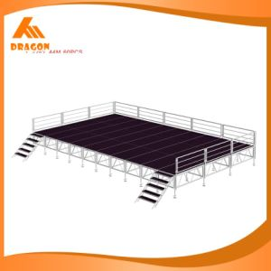 Factory Price Sale Aluminum Frame Stage with Plywood Platform pictures & photos