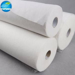 Waterproof SMS Fabric Bed Sheet Roll for Medical Bed pictures & photos