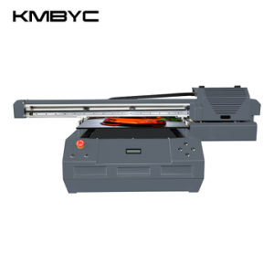 Byc A2 Plus Double Head 12 Channels Flatbed UV LED Printer pictures & photos