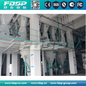New 2016 Lost Cost Maintenance Poultry Feed Production Line pictures & photos