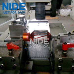 Full Automatic Servo Double Cutter Rotor Commutator Turning Machine pictures & photos