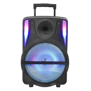 Colourful Light Rechargeable Bluetooth Speaker with Trolley pictures & photos
