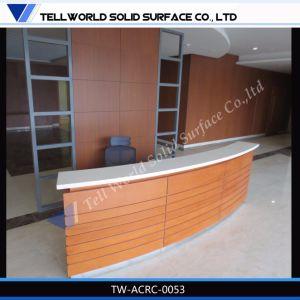Modern Design Acrylic Illuminated Reception Desk SPA Reception Desk pictures & photos