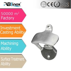 OEM Customized Stainless Steel Investment Casting Bottle Opener pictures & photos