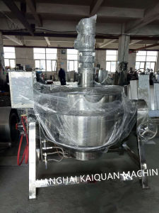 500L Electric Heating Tilting Kettle/Electric Heating Tilting Kettle pictures & photos