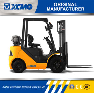 XCMG Official 3.5 Ton Gasoline&LPG Forklift Truck for Sale pictures & photos
