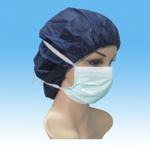 Nonwoven 1/2/3ply Face Mask, with Elastic or Ties CE Certificated pictures & photos