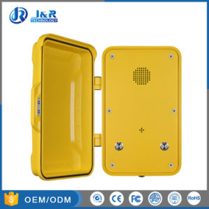 Vandal Resistant Intercom Industrial Telephone Tunnel Emergency Phone pictures & photos