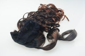 Best Japanese 100% Kanekalon Synthetic Hair Ponytail pictures & photos