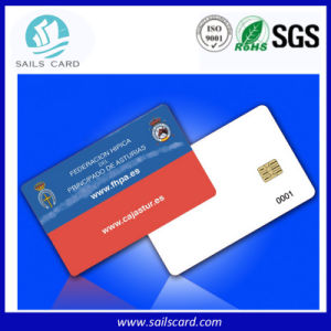 Plastic Contact IC Card with Chip FM4442, FM4428 pictures & photos