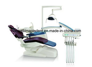 Ce Approved Dental Unit Chair with Operating Lamp (OM-DC208A) pictures & photos