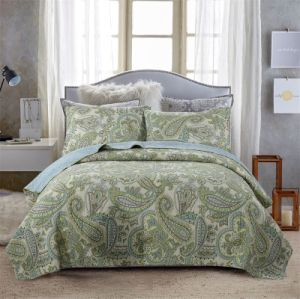 Customized Spring Embroidery Quilt/King Sheets Sets pictures & photos