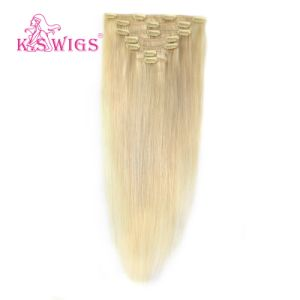 Clip in Remy Human Hair Extension 100% Indian Hair pictures & photos