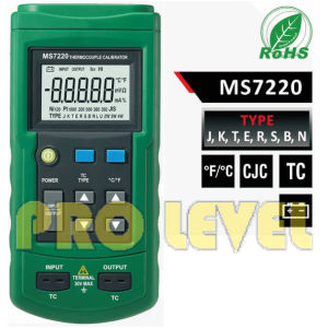 Professional Thermocouple Calibrator (MS7220) pictures & photos