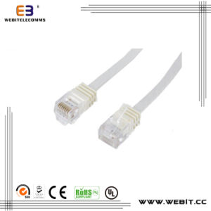Cat5e/CAT6/CAT6A/ Cat7 Flat Cable /Patch Cord/Patch Cable pictures & photos