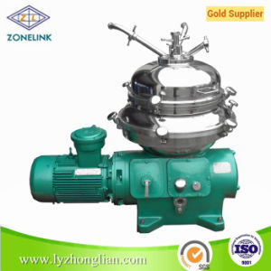 Dhy400 Automatic Discharge High Speed Disc Centrifugal Separator Machine pictures & photos