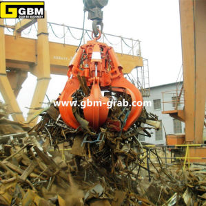 Electro Hydraulic Orange Peel Steel Scrap Grab pictures & photos