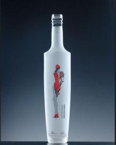 Acid Etch Vodka Glass Bottles pictures & photos