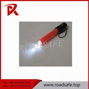 6cm Red Beautiful Traffic Hand Hold Baton Light PVC and ABS pictures & photos