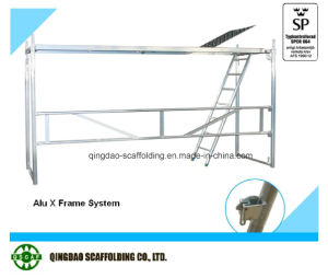 Aluminium X Frame Scaffolding System Export to Europe pictures & photos