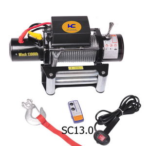 Electric Car Winch 13000lb pictures & photos