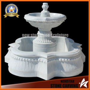 Water Feature Stone Fountain for Garden Decoration pictures & photos