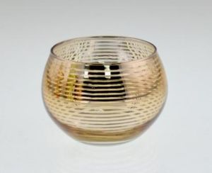 Hot Sell Glass Candle Holder for Chirstmas pictures & photos