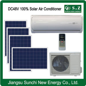 Split Wall Mounted 100% DC48V Solar Air Conditioner Solar Only pictures & photos