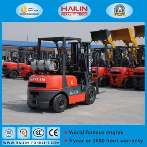LPG Forklift Truck (Nissan engine, 2.0Ton) pictures & photos