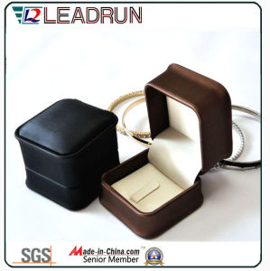 Gift Paper Wood Jewelry Box Jewelry Storage Box Packaging Box Jewellery Box Packing Box Leather Box Set Box for Ring (Yslj13A) pictures & photos