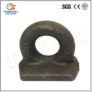 Forged Steel Galvanized Rectangular Base Deckplate Eyebolt pictures & photos