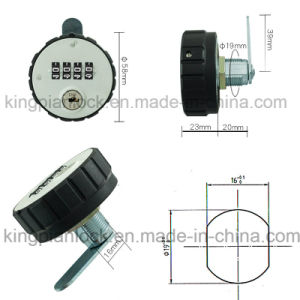 Digital Resettable Code Combination Lock for Cabinet with Master Key pictures & photos