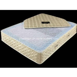 Washable Comfortable 5 Zone Pocket Spring Demask Fabric Mattress (WL037-A)